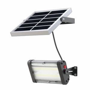 Luminaria solar de pared